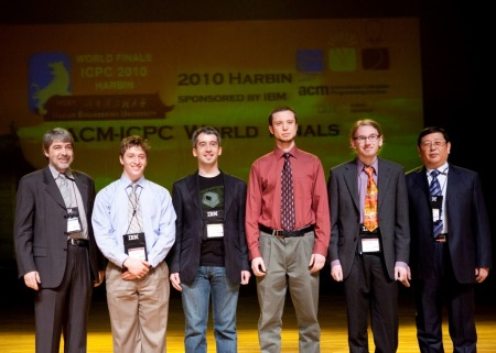 UChicago team at ACM/ICPC World Finals 2010 Opening Ceremony